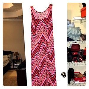 Avenue Sleeveless Maxi Dress